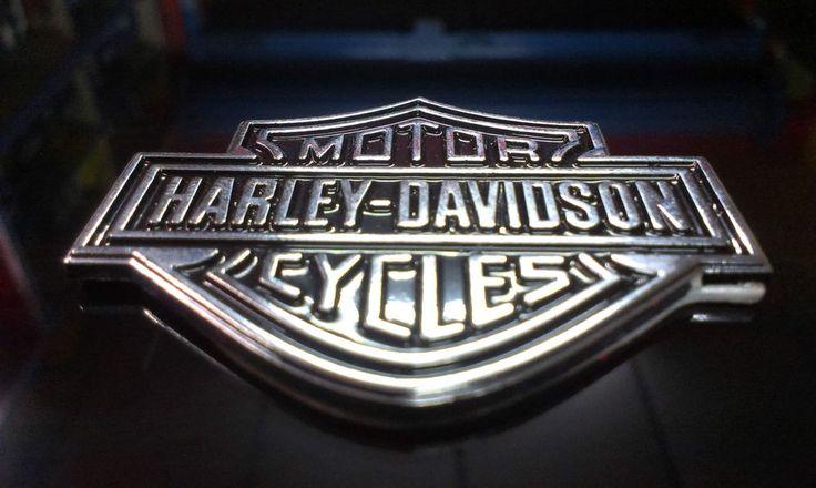 Harley Davidson Car Bike MotorCycle 3D Chrome Badge Logo Badge