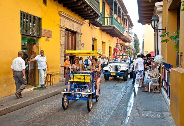 1. Las coloridas calles