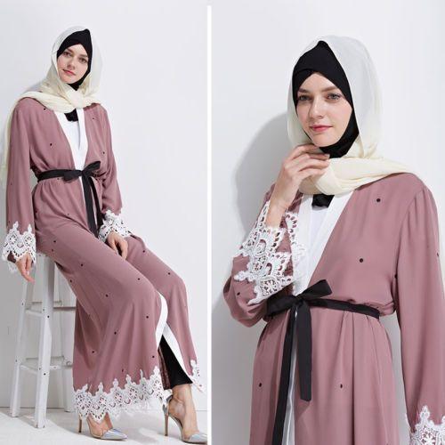Open Front Abaya Cardigan