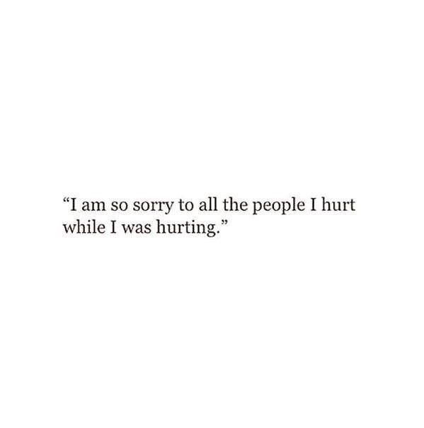 I am so sorry , it's hard to be aware of someone else's feelings when you're too absorbed in your own #imstilllearning