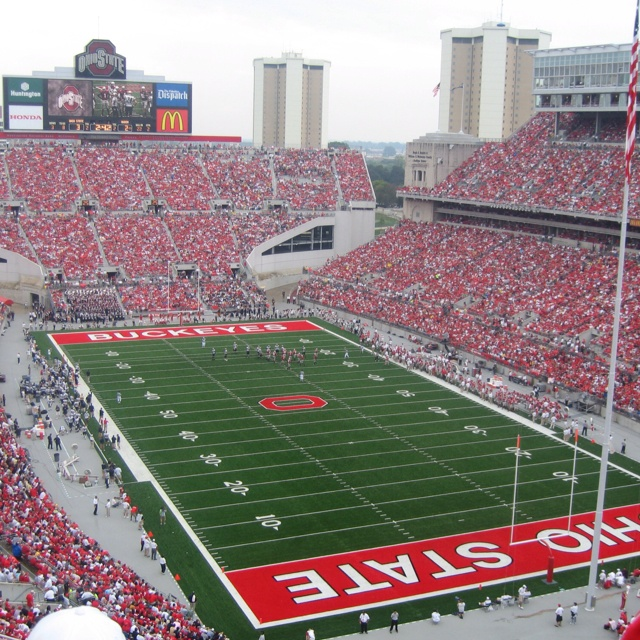 Ohio Stadium for Buckeye Games - Best fall experience you'll ever have! :-)