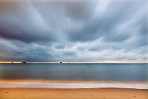 Beach, Dawn, Dusk, Evening