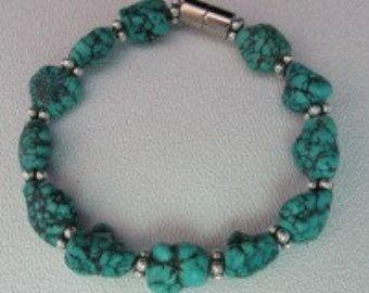 Gemstone Bracelet. Wire wrapped. Jewelry. by lindatrentjewelry