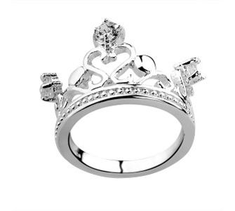 Tiffany Outlet Crown diamond ring