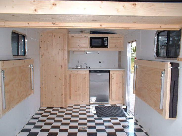cargo trailer camper conversion   RV.Net Open Roads Forum: converting a cargo trailer to a toy hauler