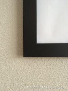 Easy DIY Poster Frames