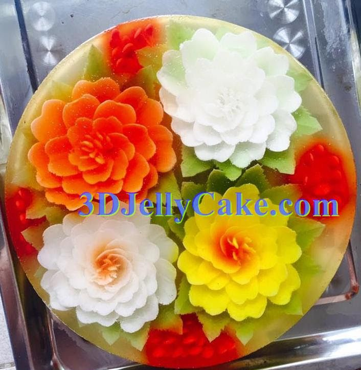 3d jelly cake 3d jelly cake gallery jelly cake for How to make edible cake decorations at home