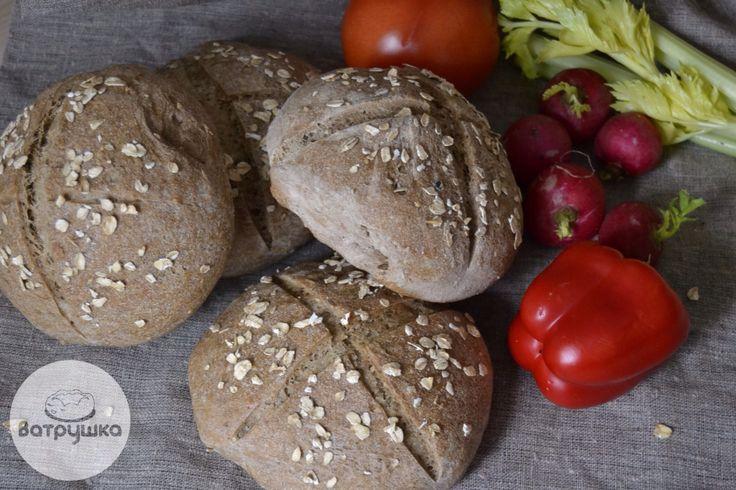 Хлеб домашний на закваске #хлеб #bread