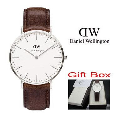 New Brand Luxury Daniel Wellington Watches DW Watch Men Famous Fabric Strap Sports Military Quartz Leather Wristwatch and box.