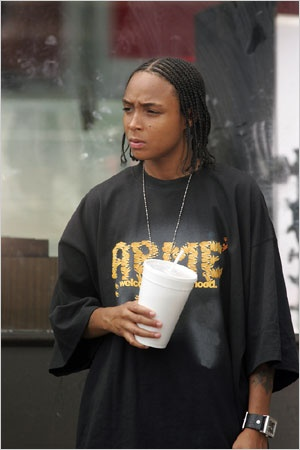 Felicia 'Snoop' Pearson, The Wire, Butch lesbian in life & on the screen