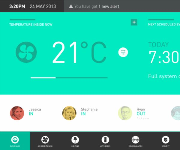 190 best Home Automation UI images on Pinterest | Smart house ...