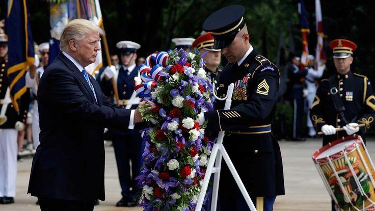 President Trump gave Memorial Day Address at Arlington National Cemetery