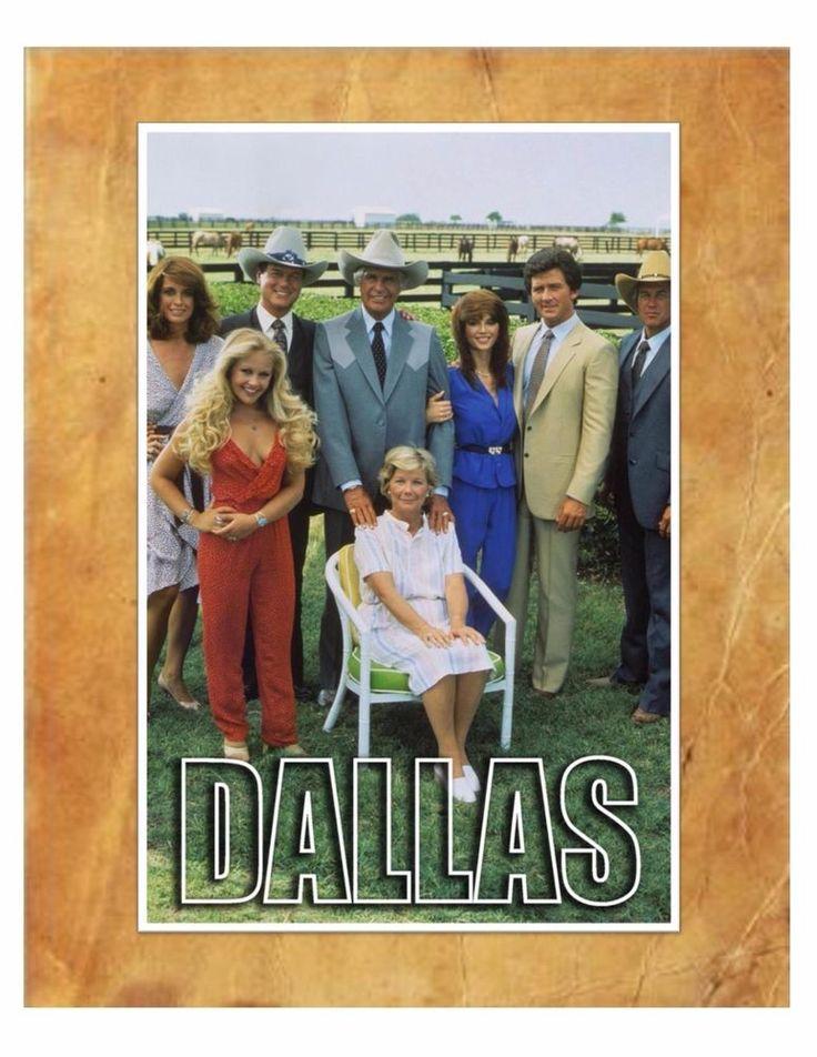 Dallas TV Series Larry Hagman 8X10 Photo With Matte Border in Print