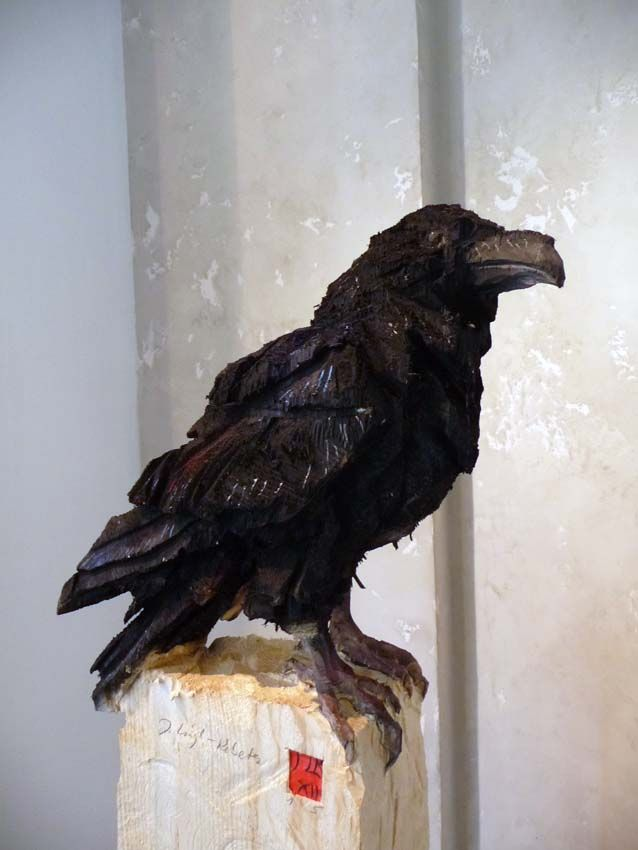 Jürgen Lingl-Rebetez | Carvings and Wood Carving | Raven ...