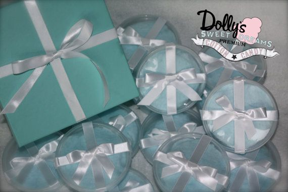 Tiffany & Co Inspired Cotton Candy Party by Dollyscottoncandy, $26.00