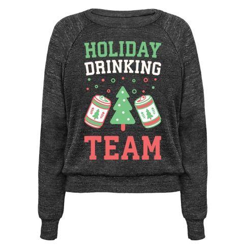Christmas Sweater Holiday Drinking Team Sweatshirt smNiZ9DM
