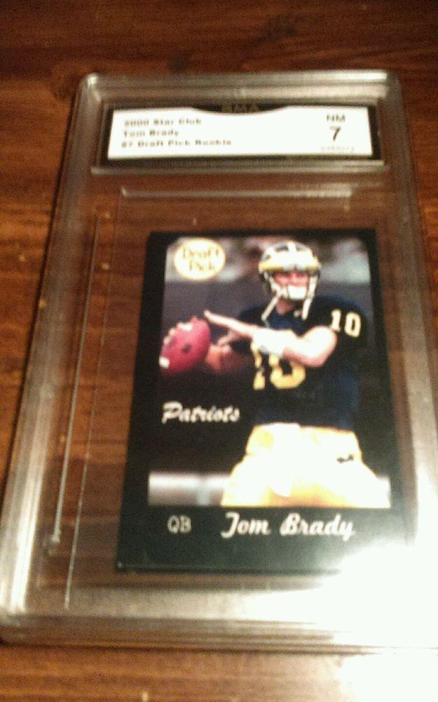 2000 Tom Brady #7 Michigan RC Draft Pick NM 7 #NewEnglandPatriots