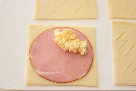 ハム卵パイ。冷凍パイシートで。 by 栁川かおり   レシピサイト「Nadia   ナディア」プロの料理を無料で検索