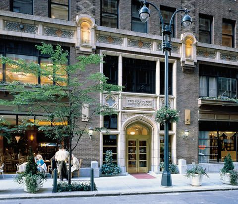 The Library Hotel in NYC--all the rooms and floors are themed by the Dewey Decimal System!