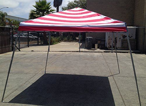 World Famous Sports 8'x8' Stars and Stripes Sun Canopy by World Famous. World Famous Sports 8'x8' Stars and Stripes Sun Canopy.