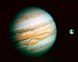Il piacere di sapere che: Giove vicino alla Terra visibile da binocolo