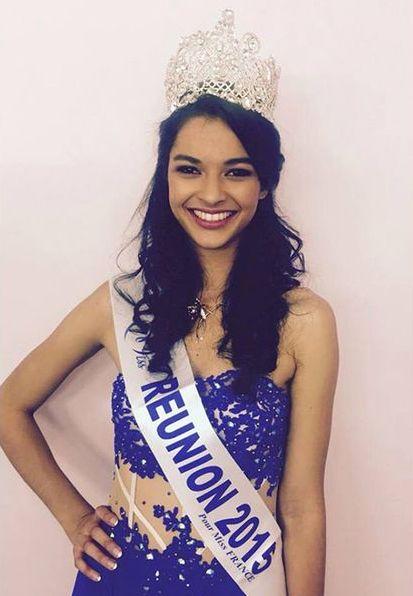 Miss Réunion - Azuima Issa (19 ans - 1,81 m) - Étudiante en comptabilité et gestion