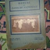 Manual de dansuri nationale ( desene - A. Jiquide ) an 1927/142pag- L. Vasilescu - Carte folclor