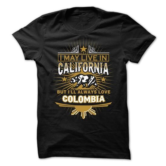 Live in CALIFORNIA BUT MADE IN COLOMBIA #Colombia