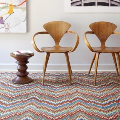 chair love: Interior, Carpet Tiles, Chairs, Flor Tiles, Flame Stitch, Flor Carpet, Furniture, Design