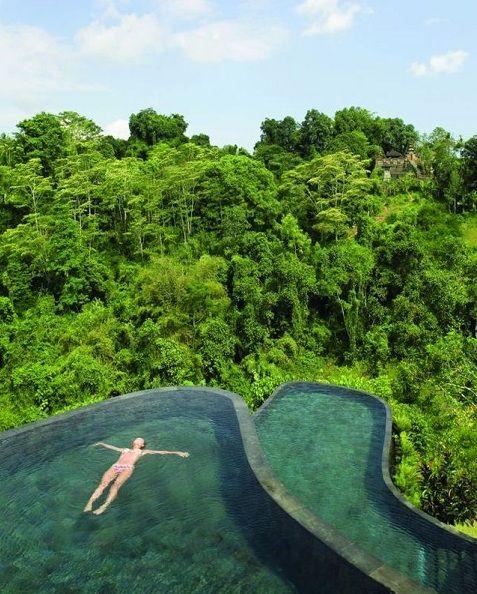 Infinity Pools: Ubud Hanging Gardens, Bali