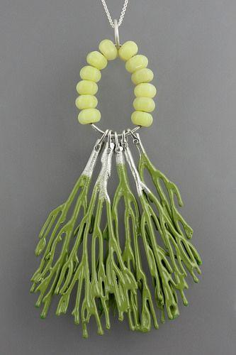 Seaweed Necklace, by Sarah Hood