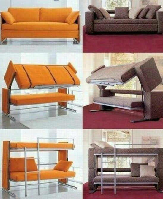 Cool bed sofa decoration pinterest cool beds sofas for Sofa bed 74 inches