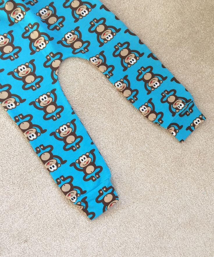 Cheeky Monkey Leggings Blue – Made to Order
