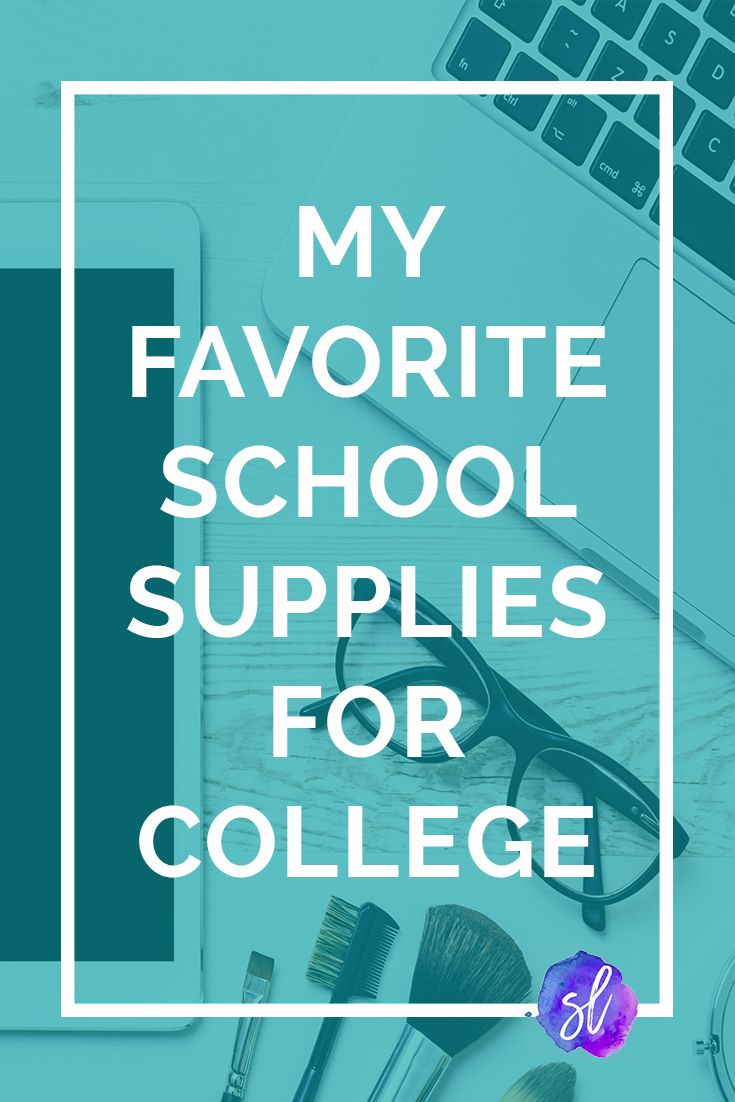 Check out these great recommendations for college school supplies! The best pens, post-its, and notebooks around. Save now and click through to read!