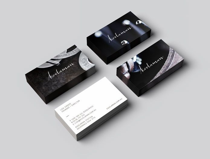 New stationery for Koolaman jewellery. Created by Truly Deeply.
