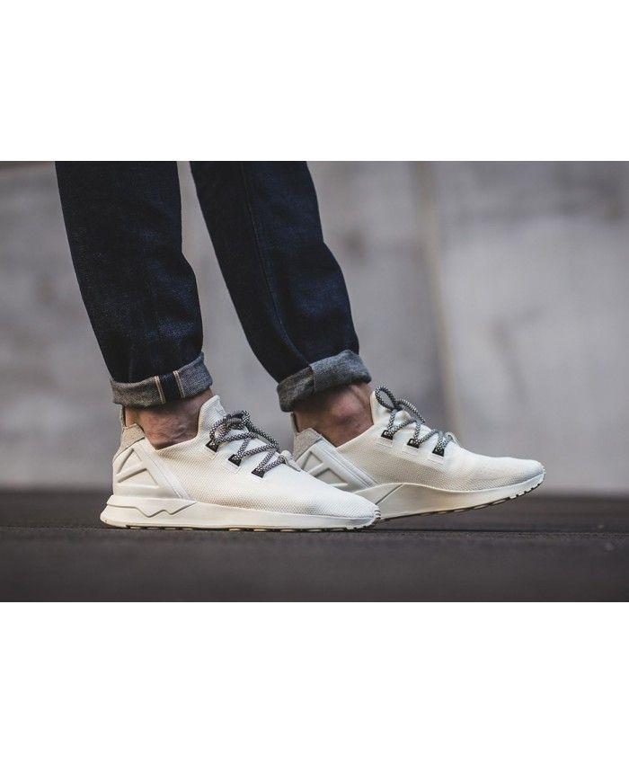 452549ff8 Adidas Zx Flux Adv X Mens Off White Shoes