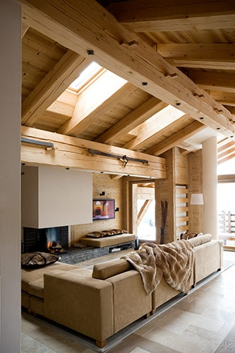 gorgeous ski chalet - by paul raeside.