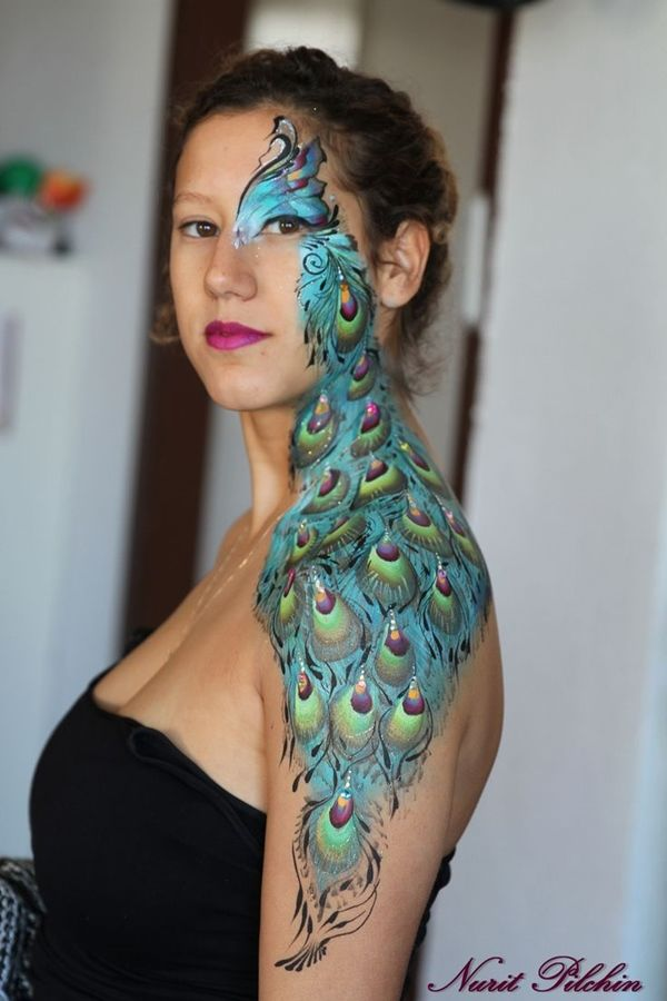 30 Female Body Painting Ideas