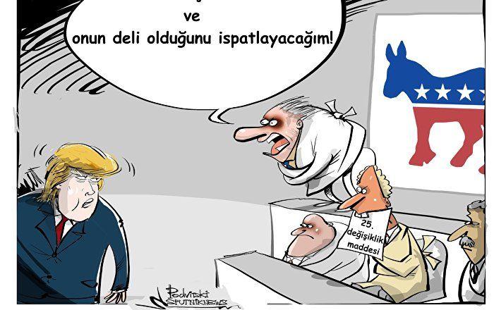 Sputnik Türkiye ///  Demokratlar'dan Trump'a karşı 'akıl sağlığı' hamlesi