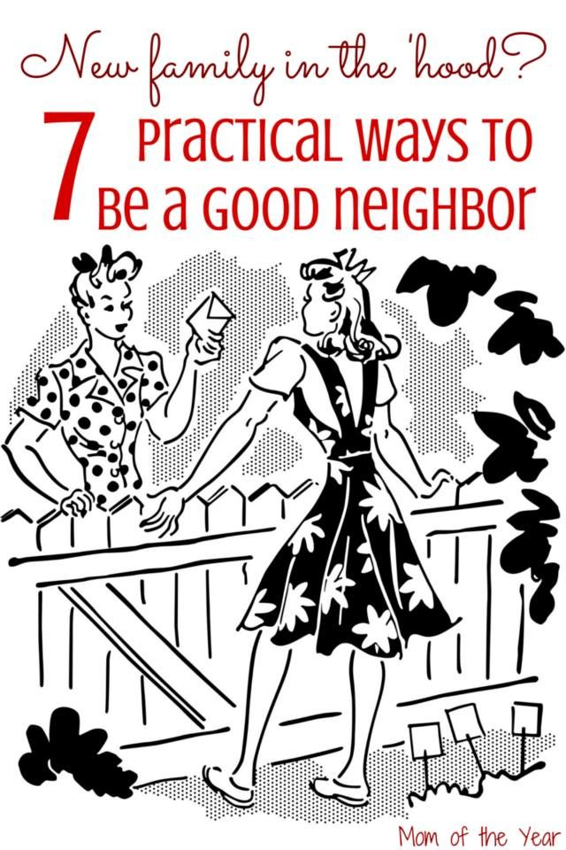 New to the neighborhood? Looking to make friends with a family who just moved in? Or maybe just be good neighbors and be friendly with the family next-door. Here are 7 easy, practical tips to be welcoming and friendly to your neighbors! Time to say hello!