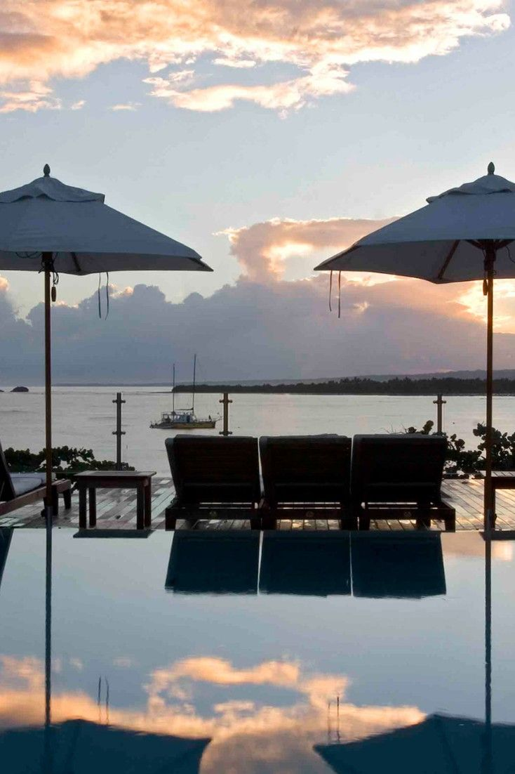 Enjoy the sea views from the rooftop swimming pool. #Jetsetter Casa Colonial Beach & Spa, Dominican Republic