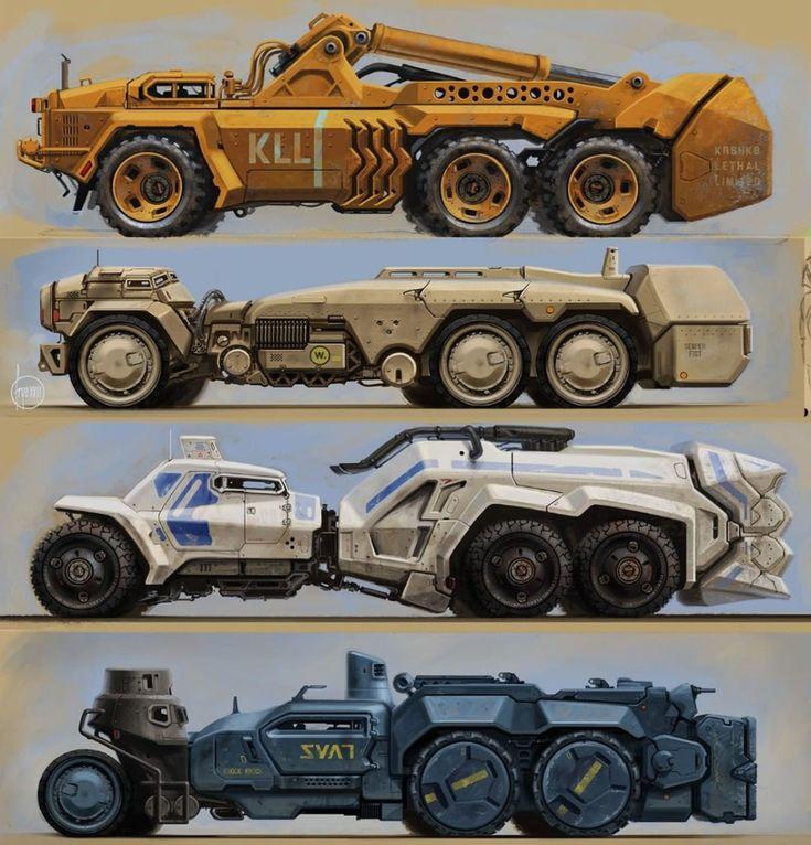 Futuristic Cars, Vehicles, Concept Cars