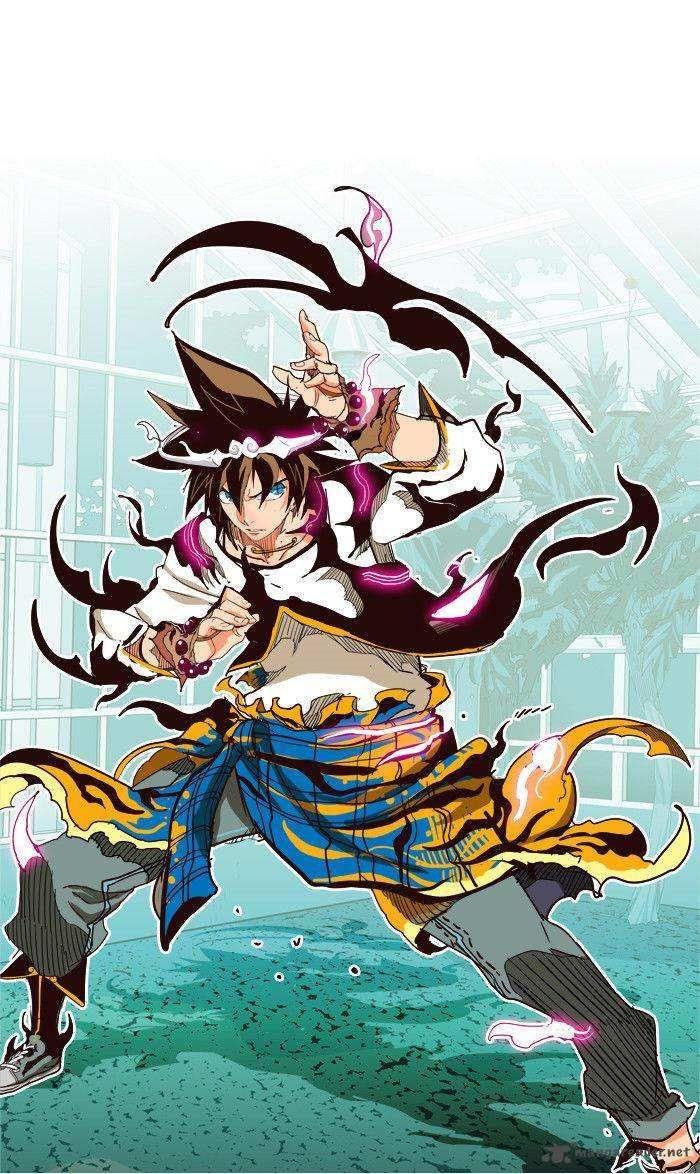 The God of High School Anime high school, Character art