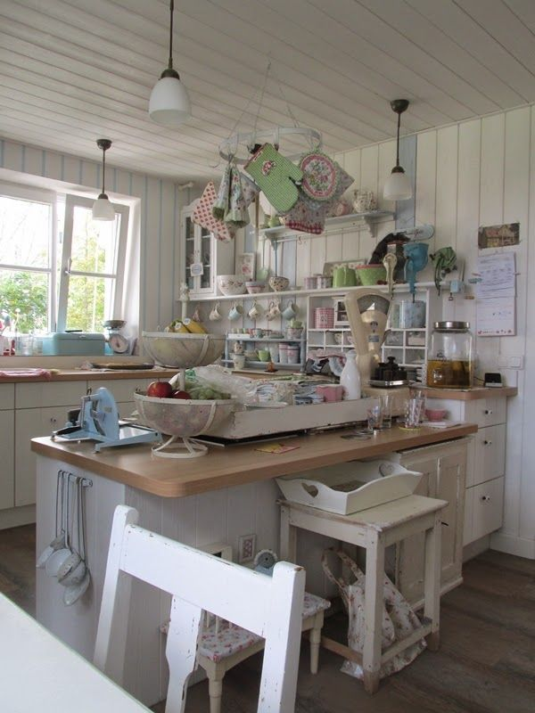 Küche shabby chic  1384 best shabby chic images on Pinterest | Chabby chic, Cottage ...