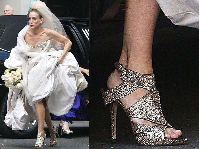 carrie bradshaw shoes pink - Buscar con Google