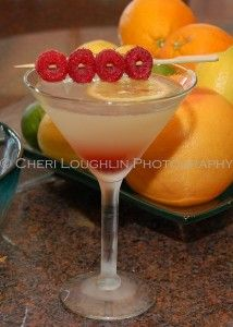 Raspberry Lemon Drop is a terrific alternative to the traditional Lemon Drop Shot or typical tall lemonade drinks. This version is easily made and layers beautifully in the glass. Ingredients: Vodka, Lemon, Simple Syrup, Raspberry. ~ photo and recipe by Mixologist Cheri Loughlin, The Intoxicologist