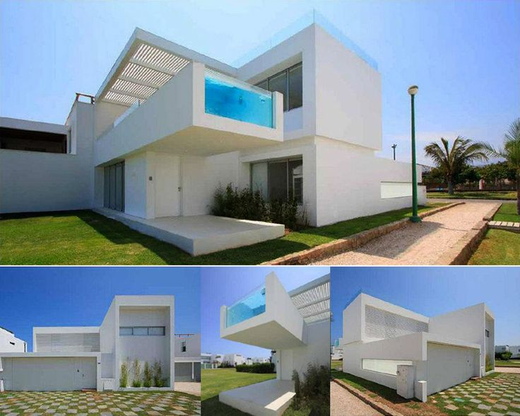 If It's Hip, It's Here: Modern Beach House In Peru With Overhang Pool: Casa Playa Blanca