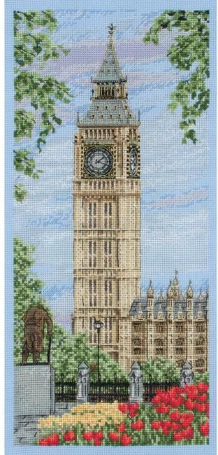 Westminster Clock - Counted Cross Stitch Kit