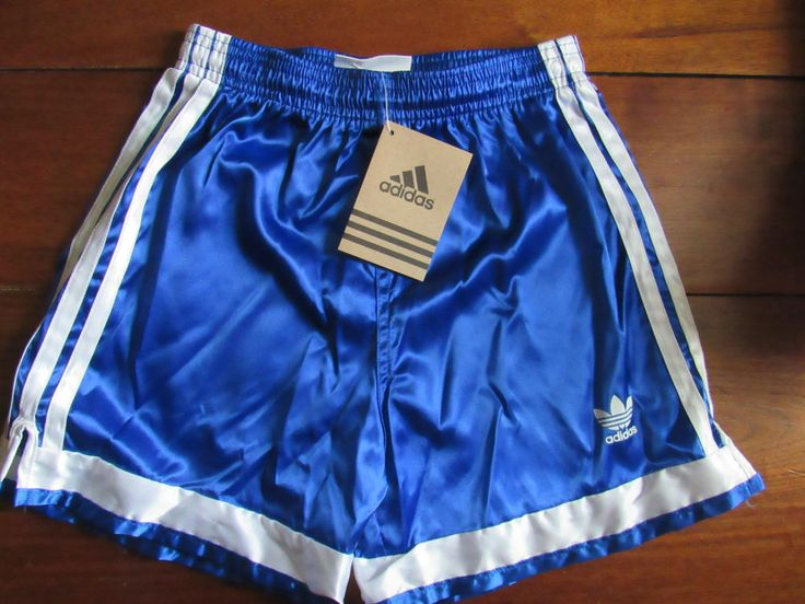 Adidas Soccer Shorts Youth Medium Royal Blue White Nylon NWT #adidas
