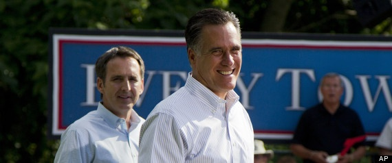 40. Tim Pawlenty Becomes Bank Lobbyist, Steps Down As Mitt Romney's National Co-Chair  The Huffington Post  |  By Amanda Terkel   Posted: 09/20/2012 9:13 am Updated: 09/20/2012 9:47 am